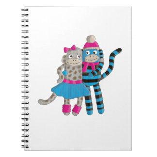 Sock Monkey Notebook