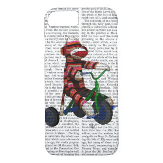 Sock Monkey on Tricycle iPhone 7 Case