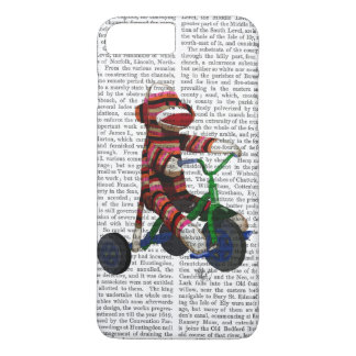 Sock Monkey on Tricycle iPhone 7 Plus Case
