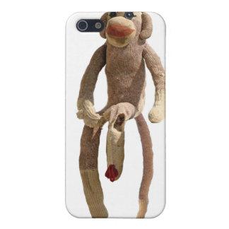 Sock Monkey Phone Cover iPhone 5 Covers