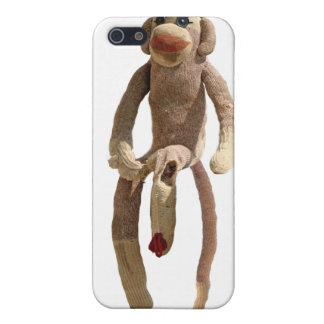 Sock Monkey Phone Cover iPhone 5 Cover