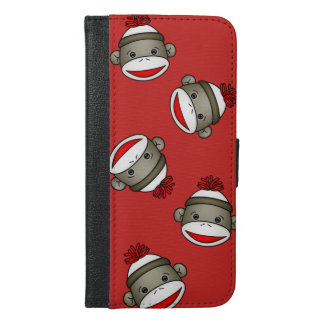 Sock Monkey Phone Orangizer Wallet