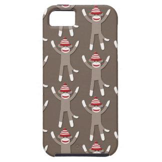 Sock Monkey Print iPhone 5 Covers