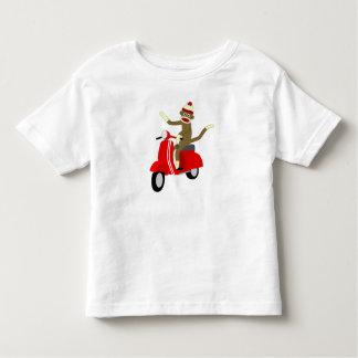 Sock Monkey Scooter Tee Shirts