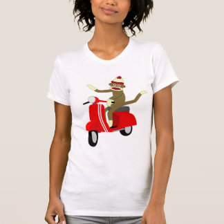 Sock Monkey Scooter Tees