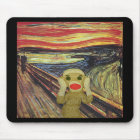 Sock Monkey Scream mousepad