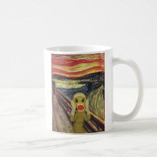 Sock Monkey Scream mug