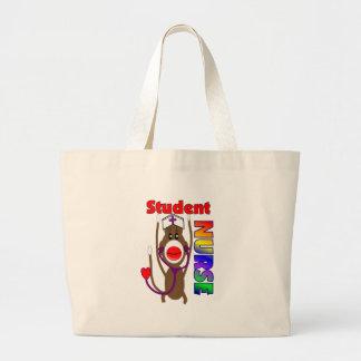 Sock Monkey Student Nurse Bags