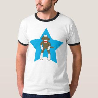 Sock Monkey Super Star T-Shirt