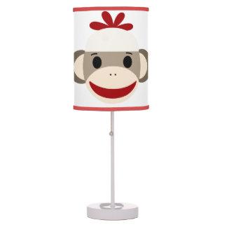 Sock Monkey Table Lamp