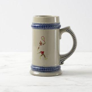 Sock Monkey Tennis Mug