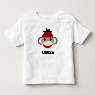Sock Monkey Toddler Shirt