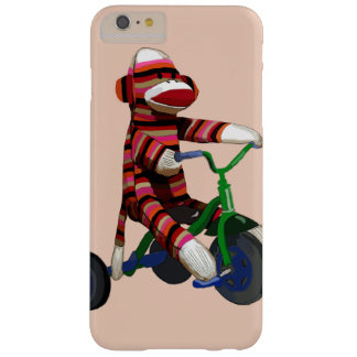 Sock Monkey Tricycle Barely There iPhone 6 Plus Case