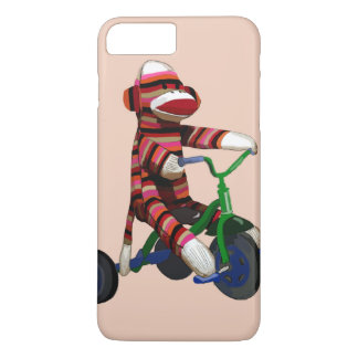 Sock Monkey Tricycle iPhone 7 Plus Case