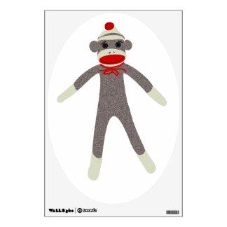 Sock Monkey Wall Decal