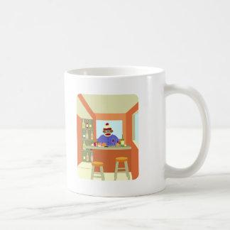 Sock Monkey Wine Taster Coffee Mug