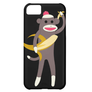Sock Monkey with Banana Swords iPhone 5C Cover