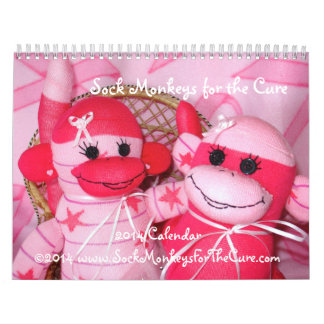 Sock Monkeys for the Cure 2014 Calendar