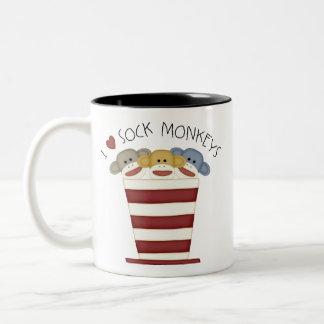 Sock Monkeys Coffee Mugs