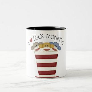 Sock Monkeys Coffee Mug