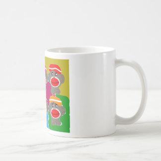 Sock Monkeys Pop Art--Art Gifts Coffee Mug