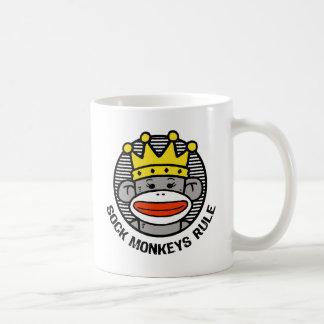 Sock Monkeys Rule Coffee Mugs