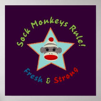 Sock Monkeys Rule! Poster
