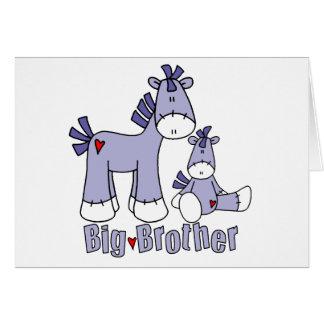 Sock Ponies Big Brother Note Card