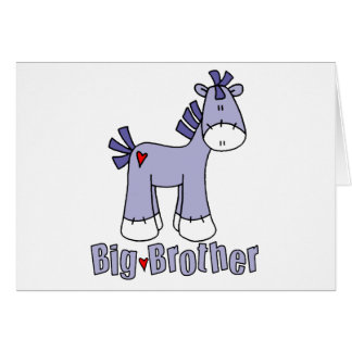 Sock Pony Big Brother Note Card