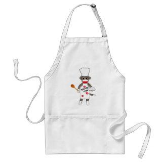 Sockmonkey Cook - Apron