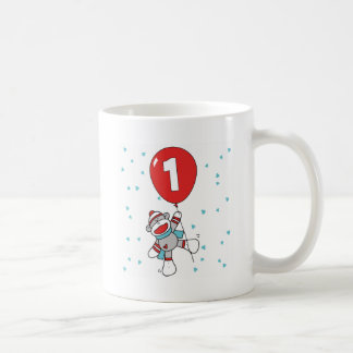 Sockmonkey First Birthday Coffee Mug