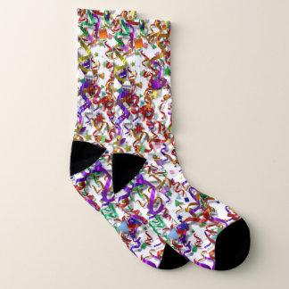 Socks - Confetti and Streamers 1