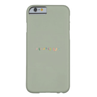 Socks line barely there iPhone 6 case