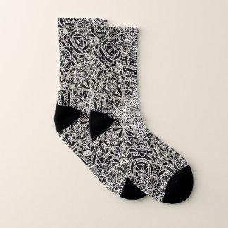 Socks Mehndi Ethnic Style G419 1