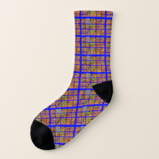 Socks: Non Uniform Pattern Socks