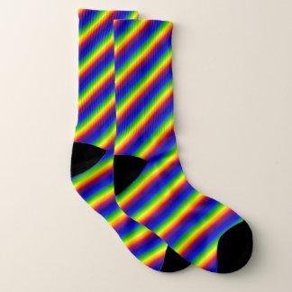 Socks - Prismatic Rainbow