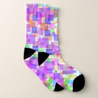 Socks - Squarely Bubble Gum 1