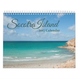 Socotra Island,  Yemen 2017 Calendar