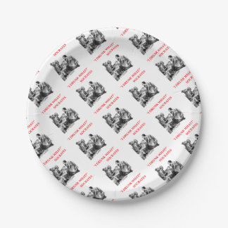 SOCRATES 7 INCH PAPER PLATE