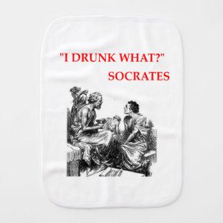 SOCRATES BURP CLOTH