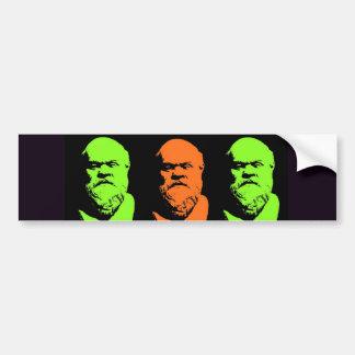 Socrates Collage Bumper Sticker