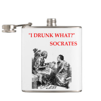 SOCRATES HIP FLASK