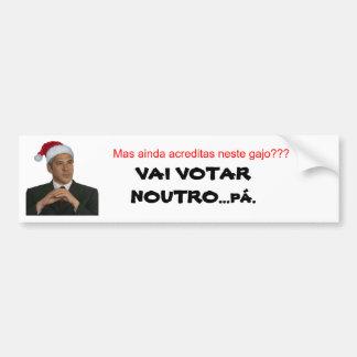 Sócrates-painatal, But still believes this ga… Bumper Sticker