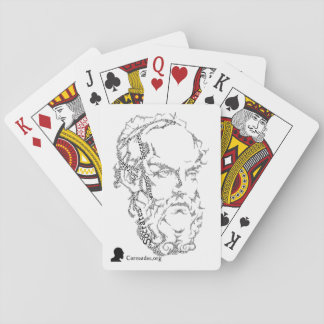 Socrates Playing Cards