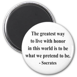 Socrates Quote 4a Magnet
