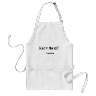 Socrates Quote 5a Standard Apron