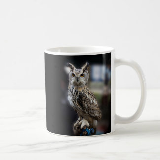 Socrates Quote Eagle Owl Coffee Mug