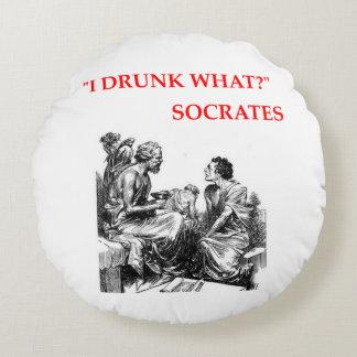 SOCRATES ROUND PILLOW