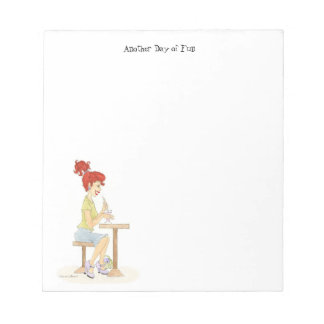 Soda Girl Note Pad