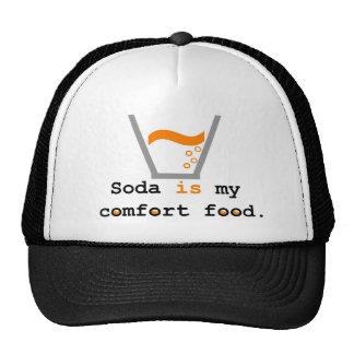 Soda is my Comfort Food Mesh Hats
